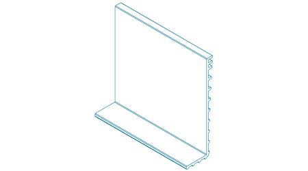 Podložka pod sklo