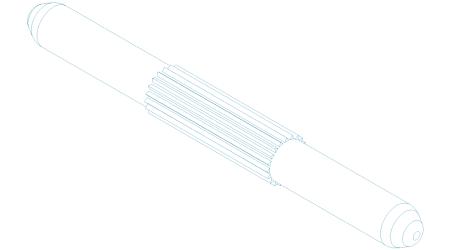 Spojovací kolík záklaních profilů