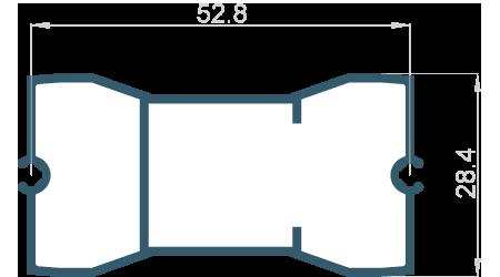 Držák lamely 190mm pohyblivé uchycení
