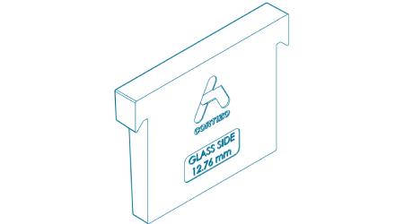 Zasklívací klin pro sklo 12.76mm